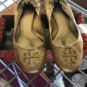 Tory Burch ballerina shoes. Was limited edition